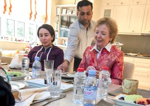 Letters: Robinson's lunch with Princess Latifa is too much to swallow