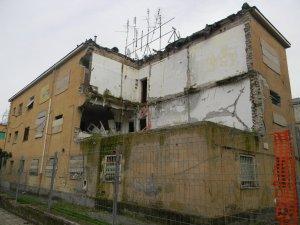 Palazzo esploso al Nicolosi