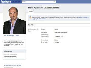 Mario Agnoletti su Facebook