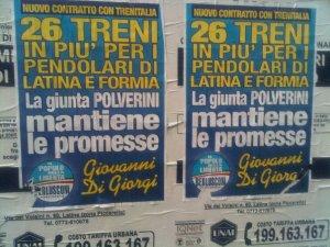 Manifesto Di Giorgi Stazione Ferroviaria Latina
