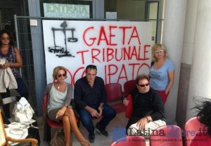 tribunale-gaeta-occupato-latina-24ore
