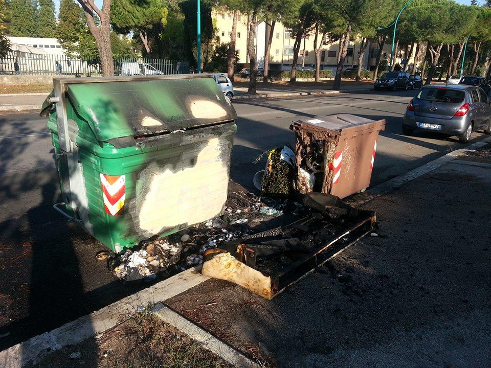 cassonetto-immondizia-bruciato-latina-24ore