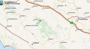terremoto-cisterna-latina-mappa