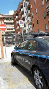 polizia-penitenziaria-parcheggio-latina
