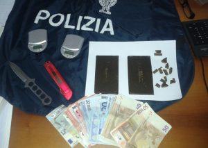 polizia-droga-soldi-sequestro