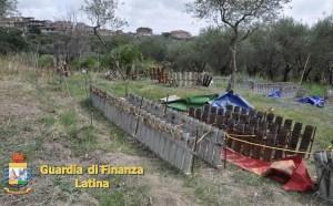 fuochi-bombe-ordigni-latina-sequestro