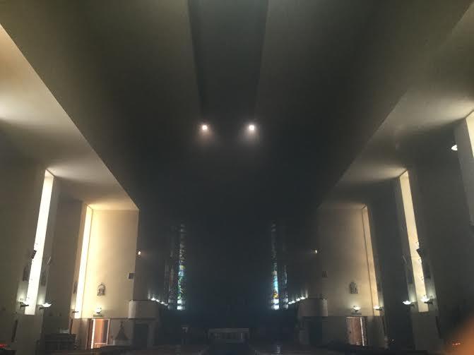 incendio chiesa