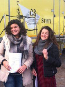 Alice Velletri e Chiara Mennella