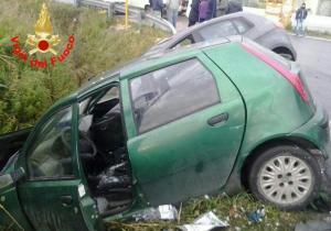 auto-incidente-via-del-murillo-latina