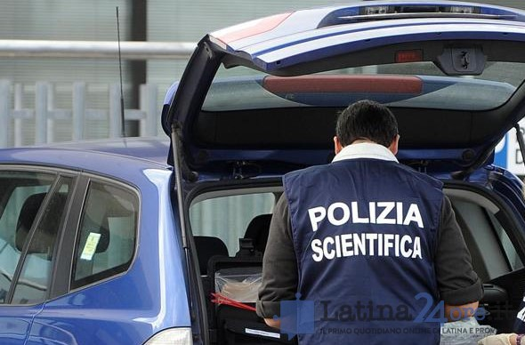 polizia-scientifica-auto-latina