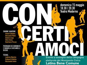 CONCERTIAMOCI-LBC-TEATRO MODERNO-LATINA-MAGGIO-2016