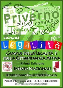 Campus della Legalità e della Cittadinanza attiva