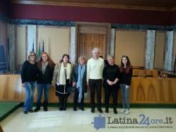 Bambini consiglio comunale Latina Coletta