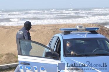 polizia-latina-lido-mare-2018