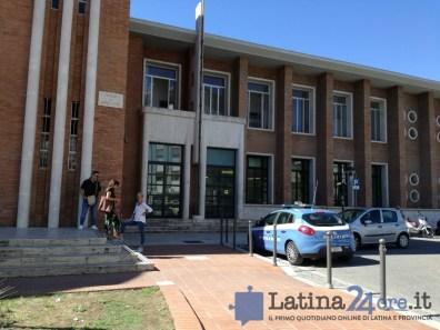 allarme bomba poste centrali latina