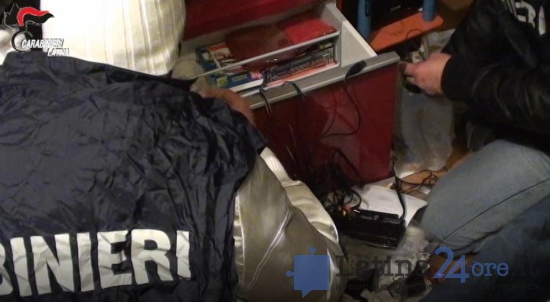 carabinieri-latina-arresti-perquisizione