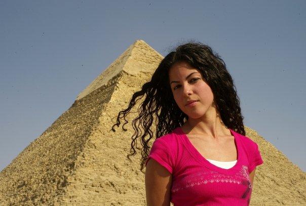 Modeling and grabbing at the Pyramids of Giza