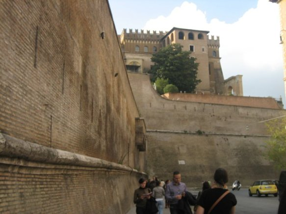 Vatican City walls