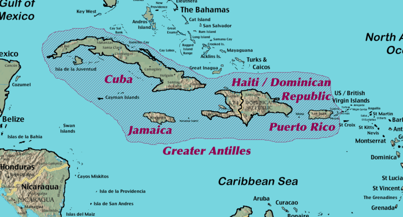 Puerto Ricos Culture And Politics Photo Essay - Geographical map of puerto rico