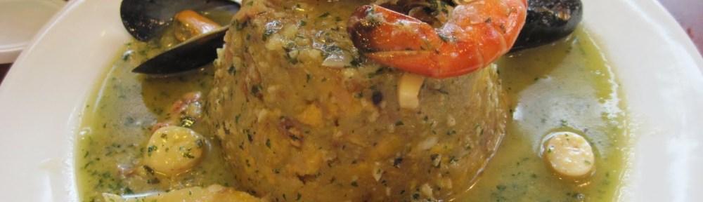 Puerto Rican food, stuffed mofongo