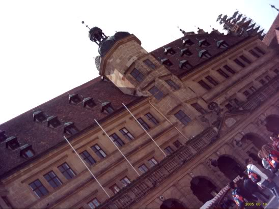 Europe 2005, Rothenburg plaza