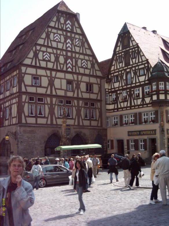 Europe 2005, Rothenburg buildings