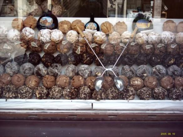 Europe 2005, Rothenburg sweets