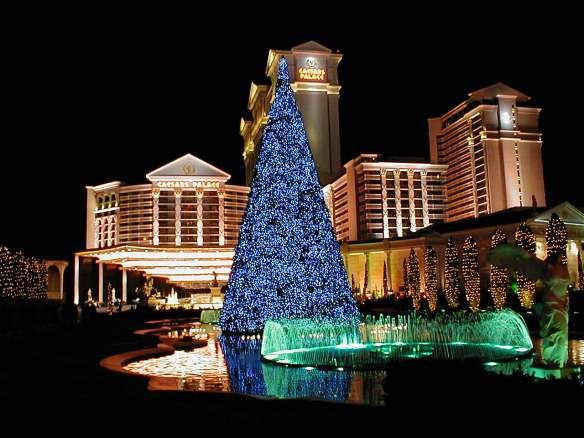 travel bucket list, Las Vegas Christmas