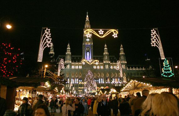 travel bucket list: Christmas in Vienna