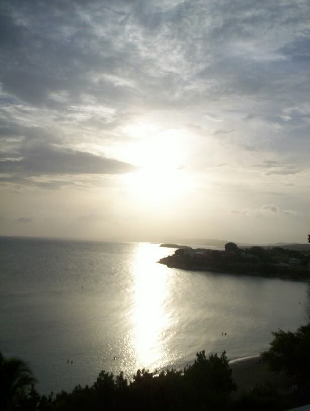 another glorious sunset in Playa Santa, Guanica