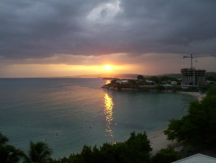 Playa Santa, Guanica sunset