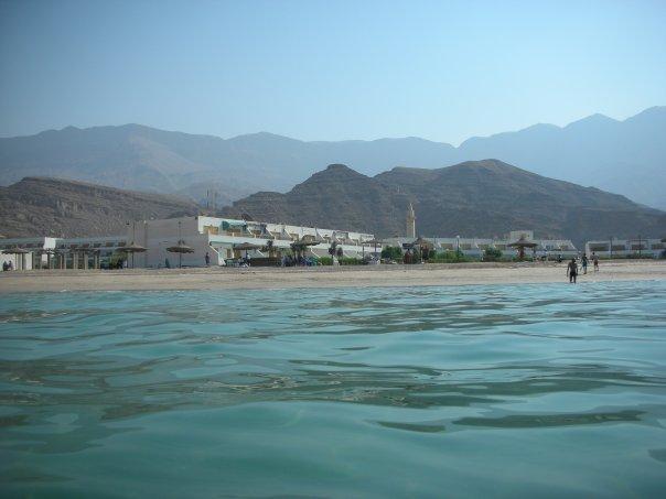 Ain Sokhna sandy beach, Egypt
