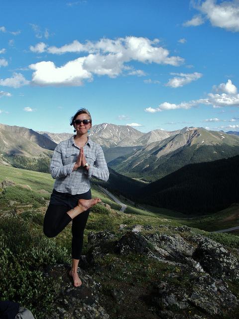 Keystone Colorado vicinity, yoga