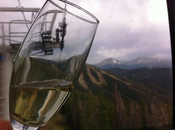 TBEX 2012 review, Keystone gondola champagne