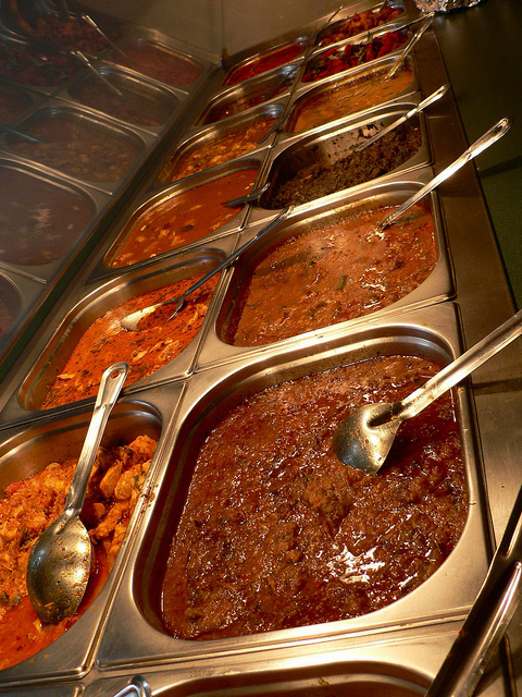 types of Asian curries photo