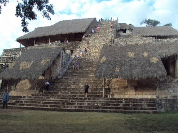 Ek Balam Mayan ruins, main temple