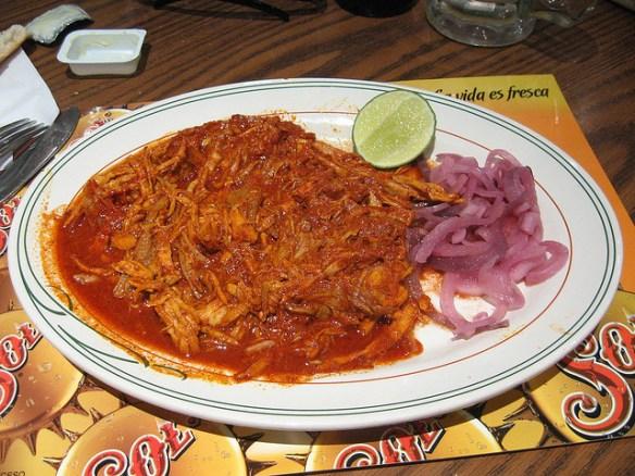 Maya food Cochinita Pibil