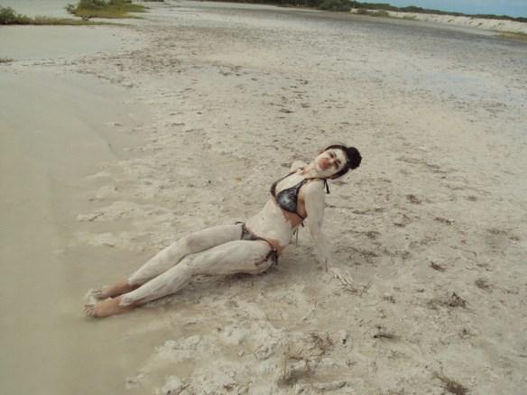 Things to do in Playa Del Carmen, mud bath at Rio Lagartos