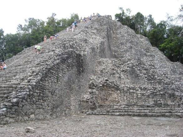 things to do in Playa Del Carmen, Coba pyramid