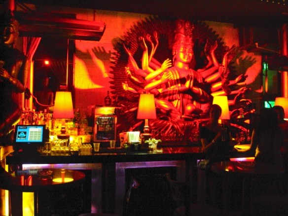 Playa Del Carmen nightclubs review, Mandala's Buddha