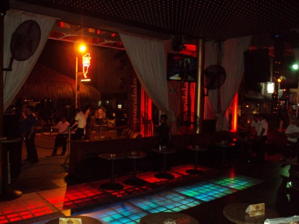 Playa Del Carmen nightclubs review, Mandala interiors