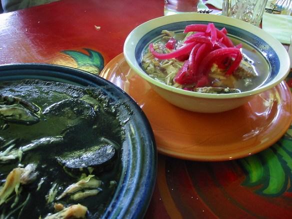 relleno negro, Maya food