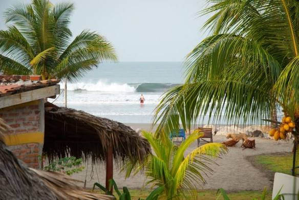 Nicaragua beach, Jiquilillo