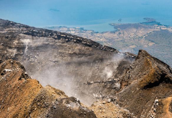 Nicaragua attractions, volcano Concepción