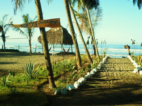 Monty's beach Lodge, my Nicaragua itinerary