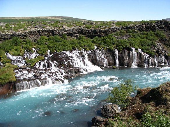 Icelandic road trip, Hraunfossar