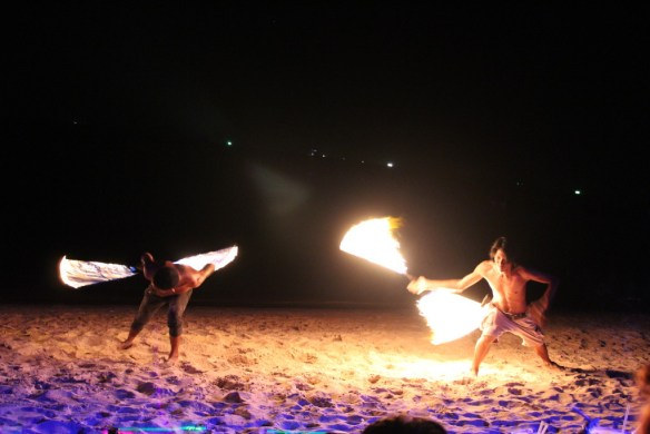 fire show, top Koh Tao shows