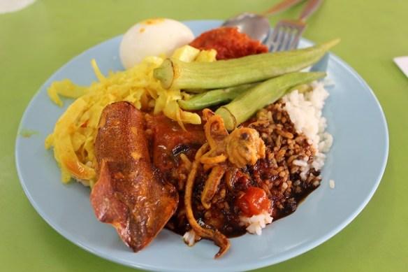 Malaysia foodie guide, nasi kandar