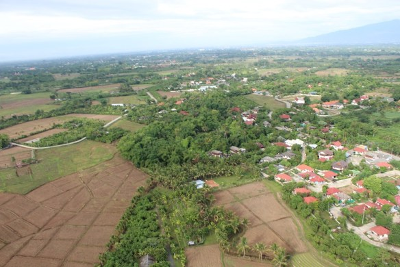 Chiang Mai micro flight view
