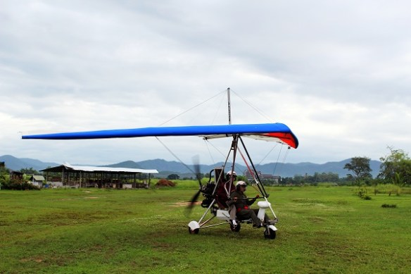 Chiang Mai micro flight aircraft